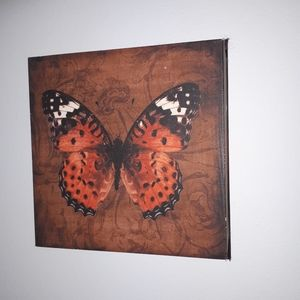 Butterfly courage  wall decor